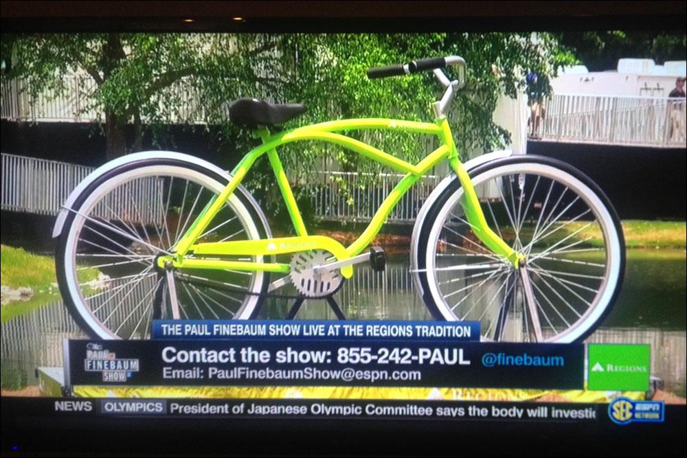 Regions Bank Big Bike