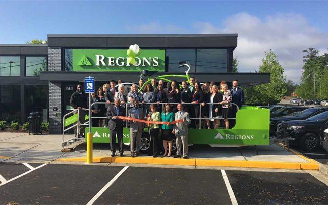 Regions Branch Opening