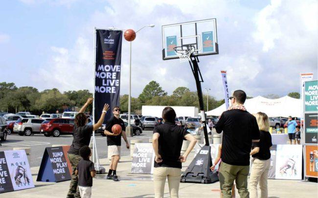 Unilever/NCAA March Madness Military Appreciation Tour