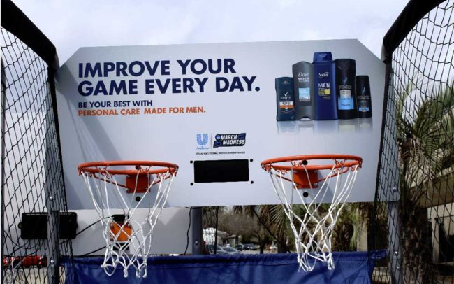 Unilever/NCAA March Madness Military Appreciation Tour