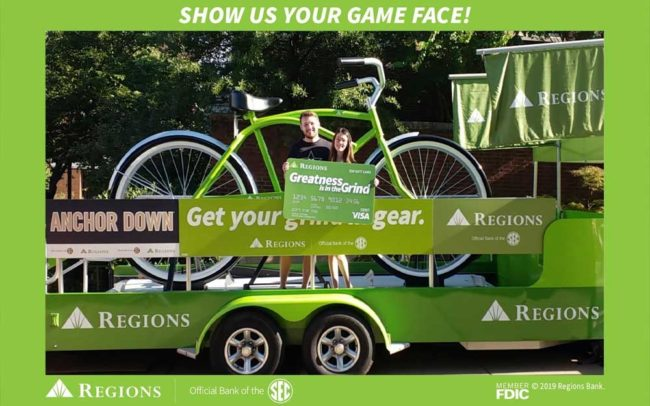 Regions Bank and SEC Football