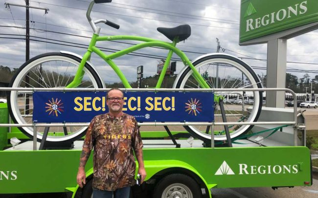 Regions Bank- 2019 SEC Football Experiential Tour