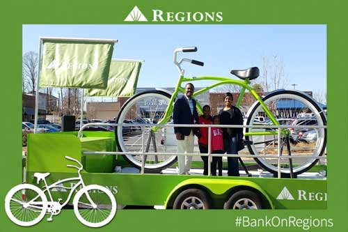 Regions Bank Grand Opening